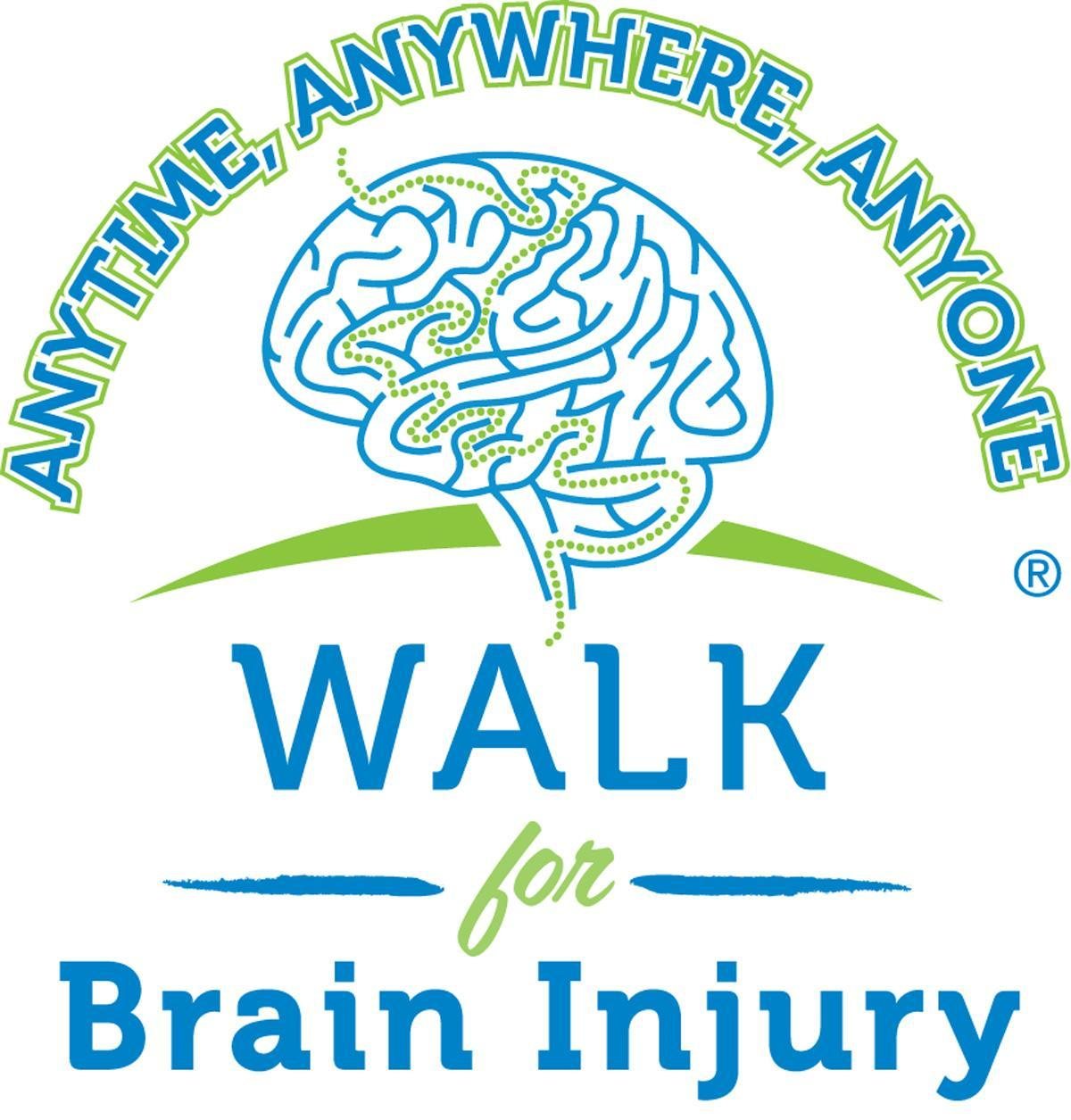 Walk for Brain Injury Logo 2012
