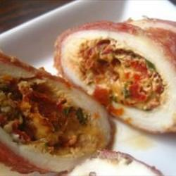 Tomato and Basil Stuffed Chicken Breasts
